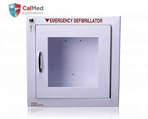 Universal Cabinet for AED's -- without Alarm