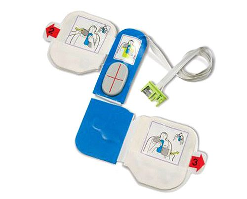 ZOLL AED Plus Adult Electrode Pads: CPR-D-padz®