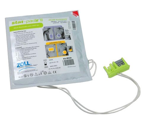 ZOLL AED Plus Adult Electrode Pads: Stat-padz® - California